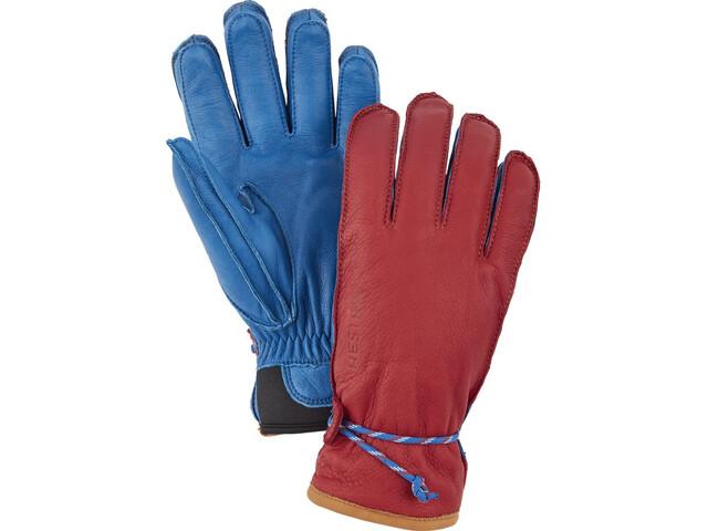 Hestra Wakayama Gloves Red/Royal Blue